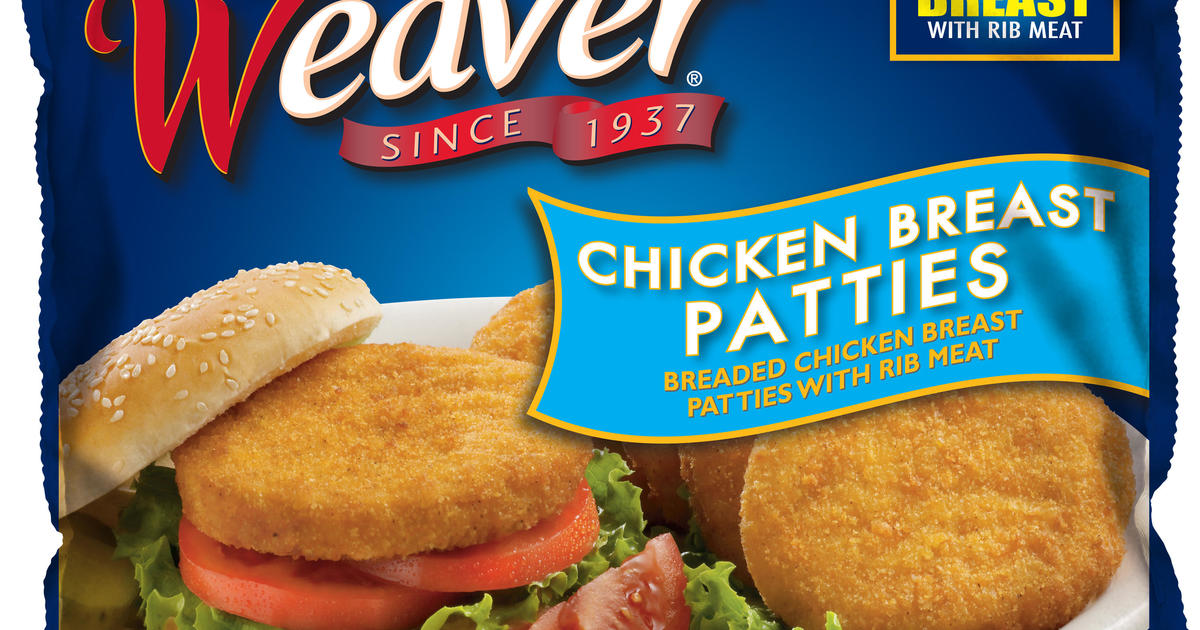 Tyson recall: Chicken breast patties recalled because of