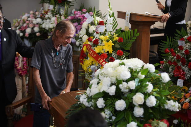 APTOPIX Mass Shooting-Texas-Funeral