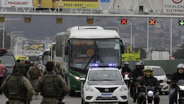 Brazil Rio Hostage