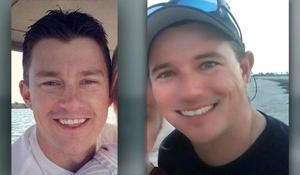 Search intensifies for 2 firefighters missing since fishing trip