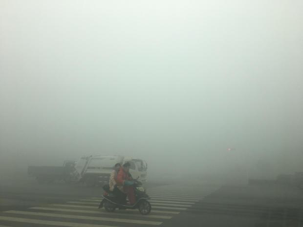 Zhengzhou Suffers Heavy Smog