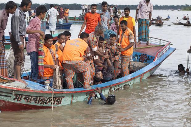 BANGLADESH-RIVER-SINKING