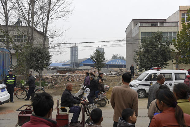 At Least 17 People Died In Henan's House Reconstructing Collapse