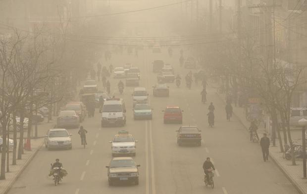 CHINA-UN-CLIMATE-WARMING