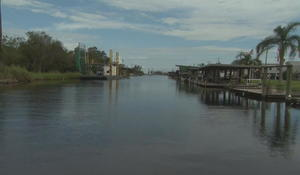 Louisiana island may soon be lost to rising waters