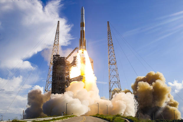 Rocket launches GPS satellite into orbit for U.S. Air Force