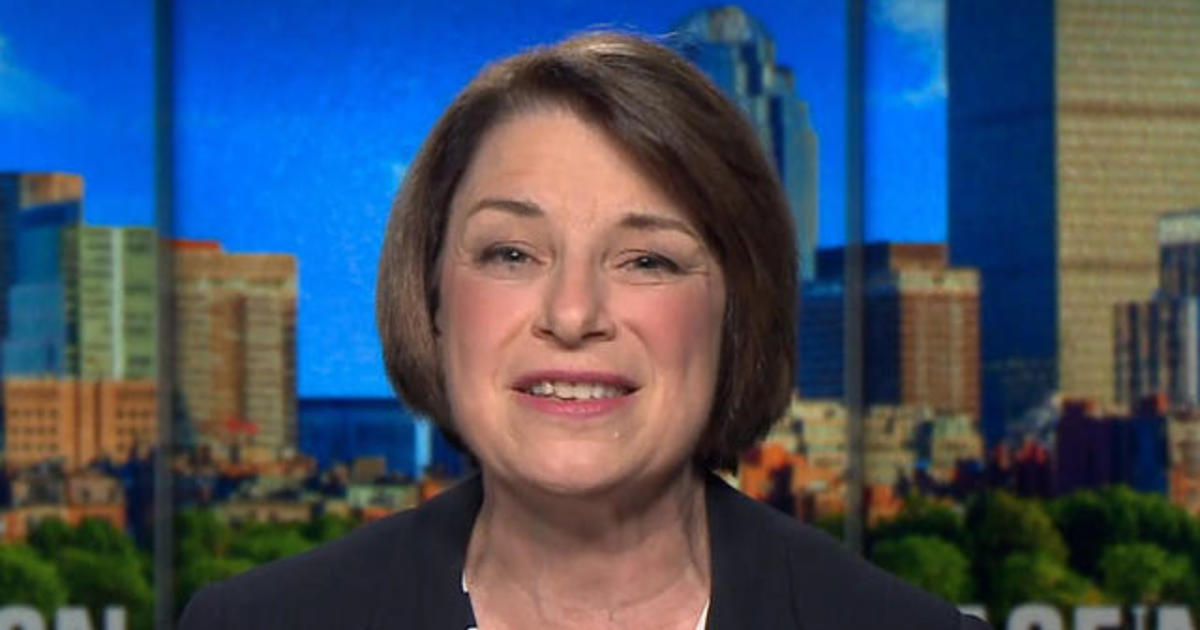 "Klobuchar says Trump uses tariffs ""like a meat cleaver"""