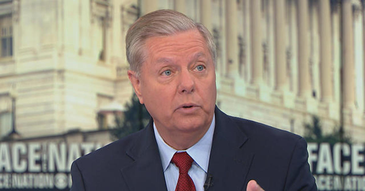 """Transcript: Lindsey Graham on """"Face the Nation,"""" August 25, 2019"""