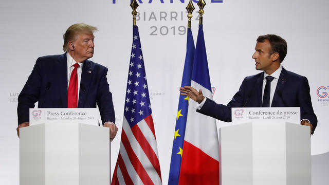 G7 summit in Biarritz