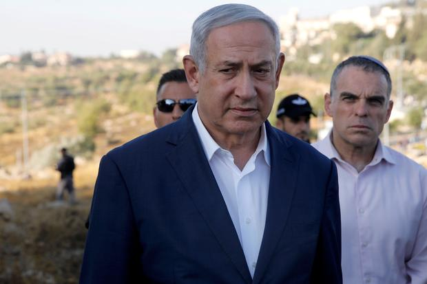 ISRAEL-PALESTINIAN-CONFLICT-NETANYAHU
