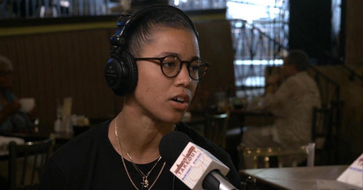 WNBA player Natasha Cloud talks about how she's addressing gun violence
