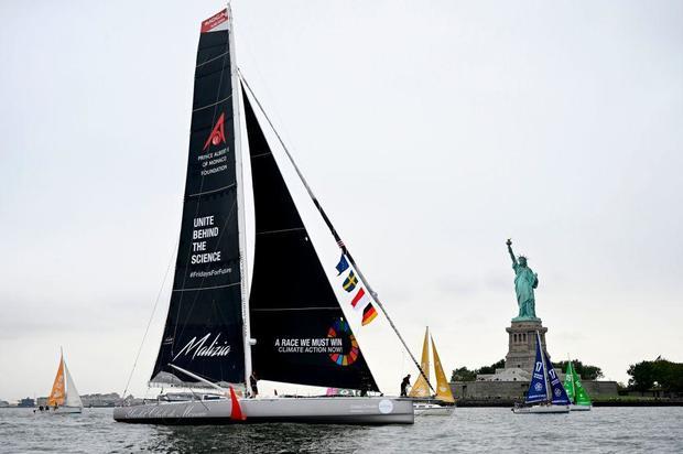 Greta Thunberg yacht