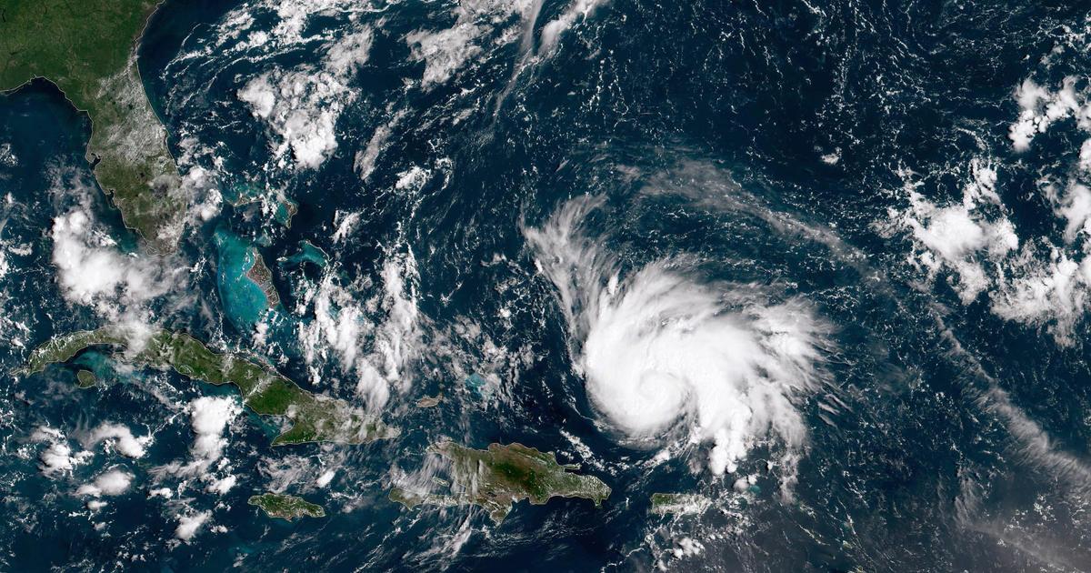 Hurricane Dorian Heads Toward Florida As Governor Declares
