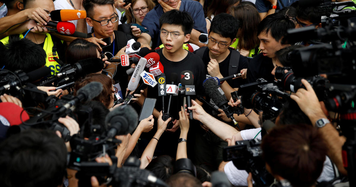 Hong Kong protest leaders arrested and charged as police ban huge planned demonstration