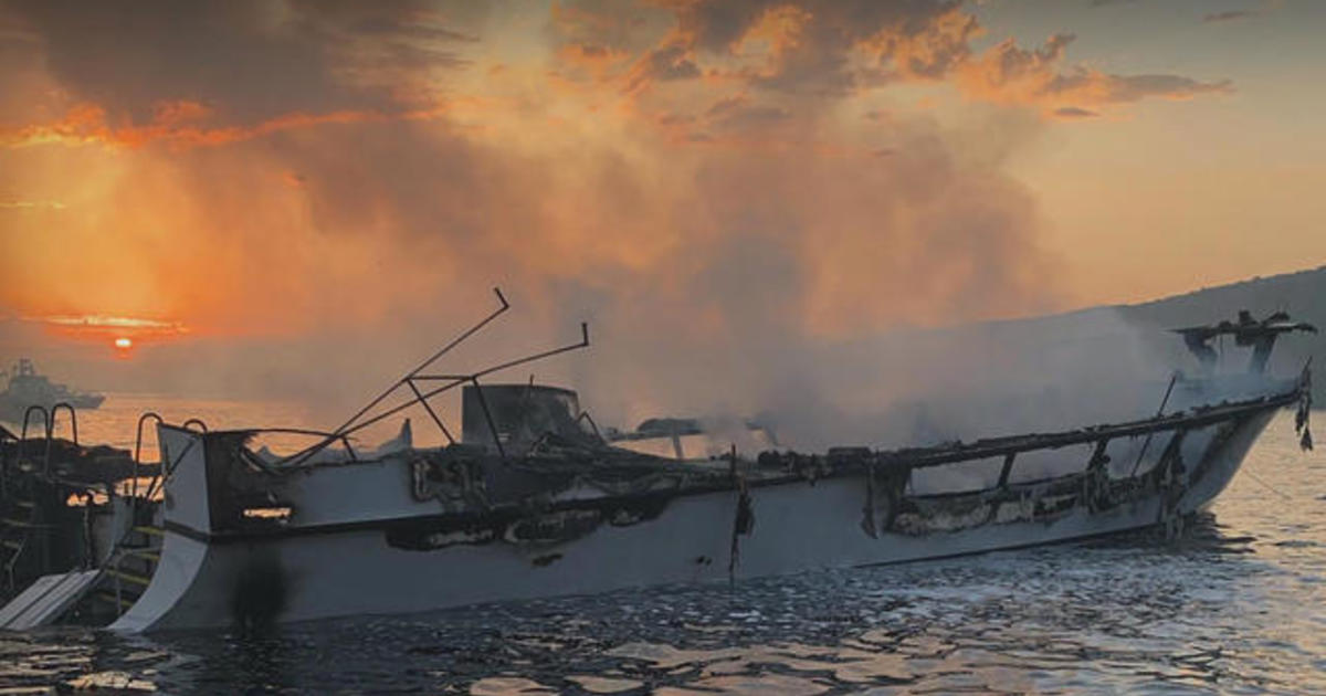At least 4 dead and dozens missing after diving boat fire in Southern  California
