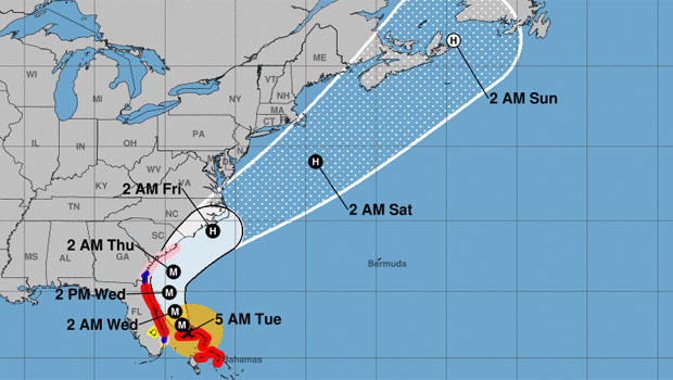Hurricane Dorian updates: Category 4 storm expected to shift ...