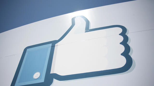A Facebook Like Button logo is seen at t