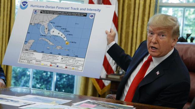 Trump map: Sharpie Gate (#sharpiegate) trends on Twitter as ...