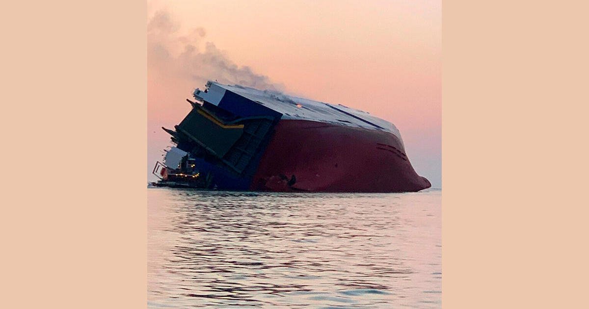 Georgia cargo ship: At least 4 missing after cargo ship