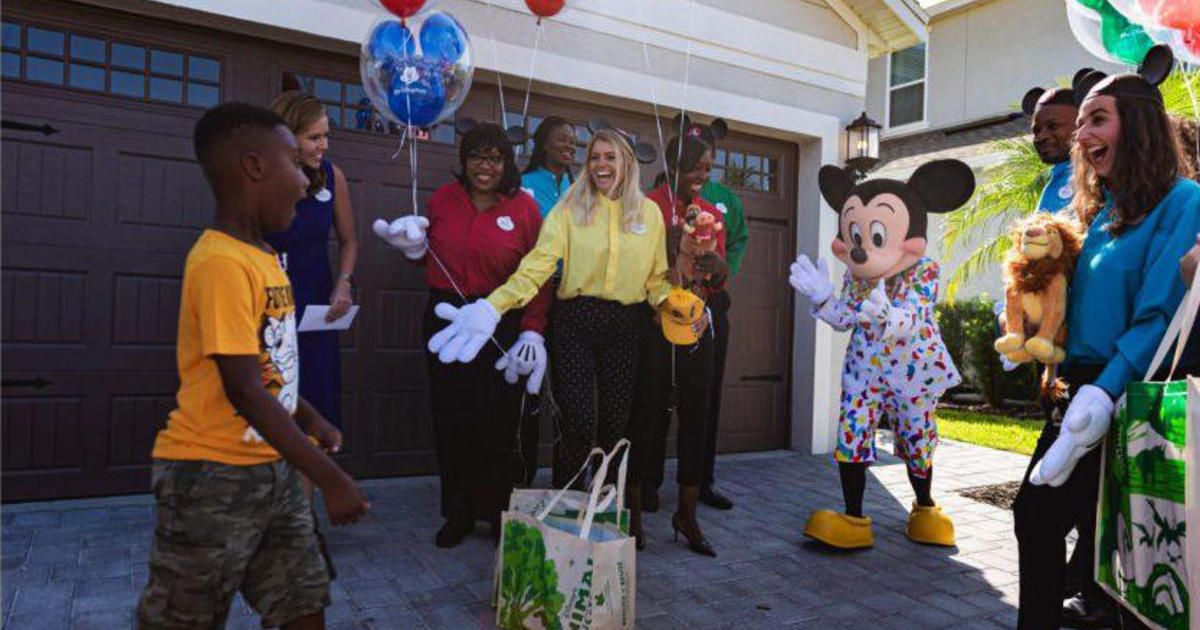 A 6-year-old used his Disney birthday trip money to help hurricane evacuees. Now he's going for free.