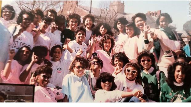 Kamala Harris 1986 sorority photo