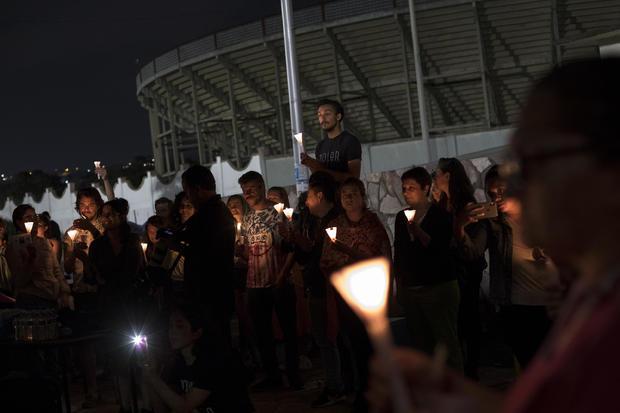 Mexico Immigration Enforcement Protest