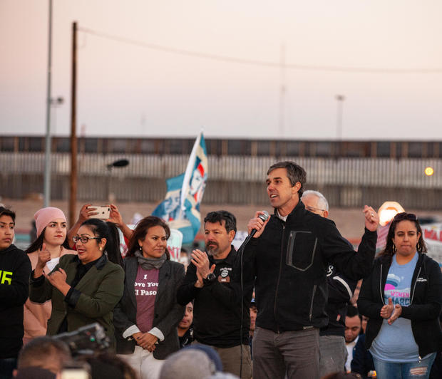Beto O'Rourke Joins Protest March Against President Trump In El Paso
