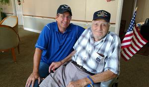 94-year-old finds an unexpected moving buddy