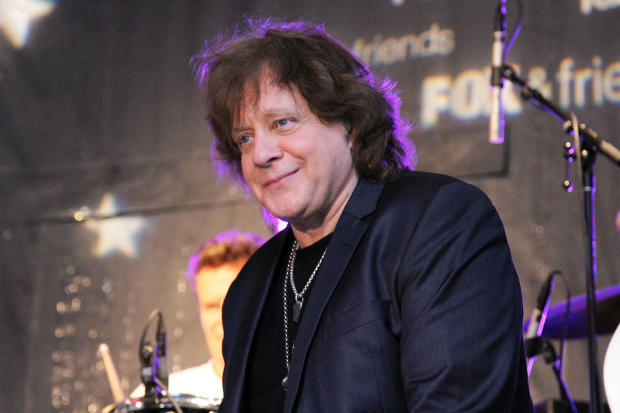 "Eddie Money performs during the ""Fox & Friends"" All American Concert Series outside Fox studios on June 7, 2013, in New York City."