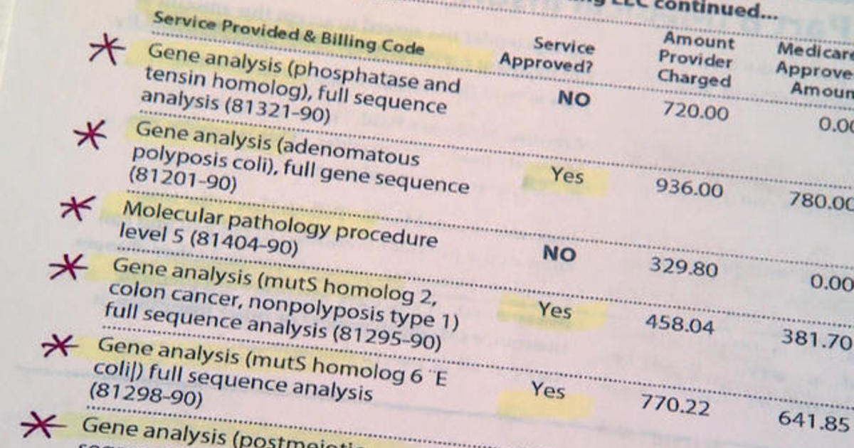 Genetic cancer risk scam targeting seniors may disqualify them from legitimate tests