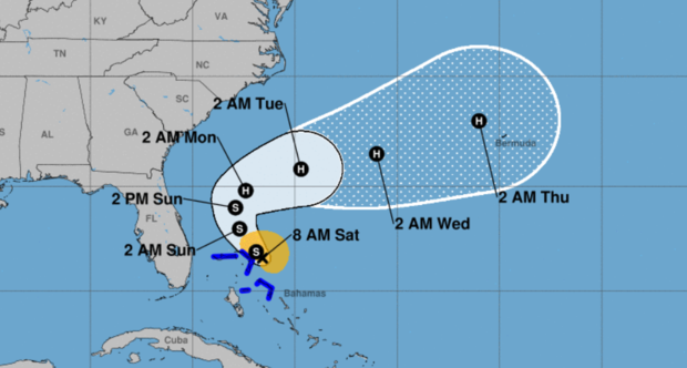 Bahamas brace for another storm just weeks after Hurricane Dorian