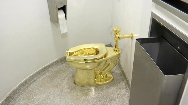 Britain Gold Toilet Theft