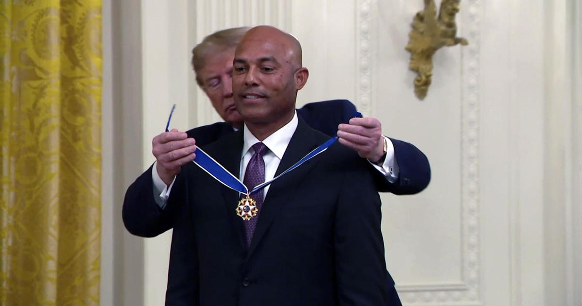 Trump honors Yankees great Mariano Rivera with Medal of Freedom