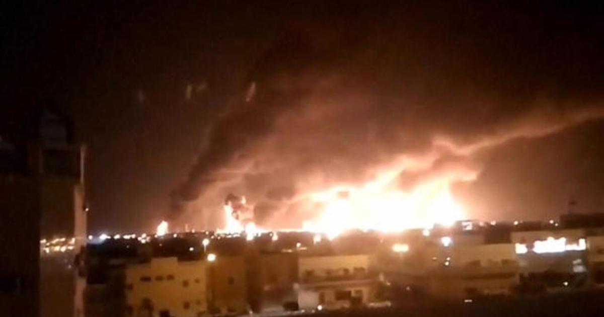 Pompeo blames Iran for Saudi Arabia oil attack