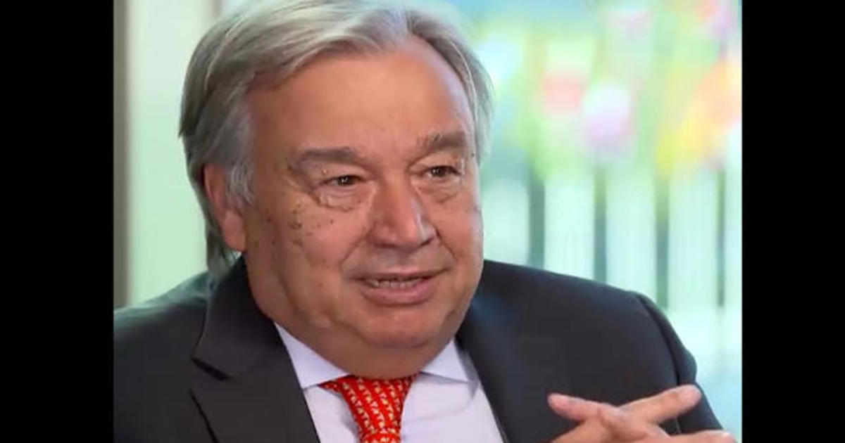 U.N. Secretary General Antonio Guterres says climate crisis will kill 7 million people a year if countries don't act