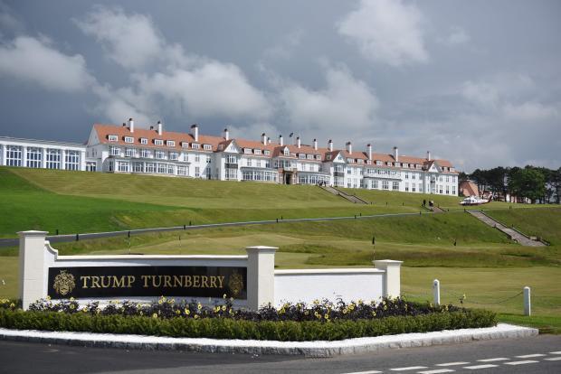 BRITAIN-US-TRUMP-GOLF-TURNBERRY