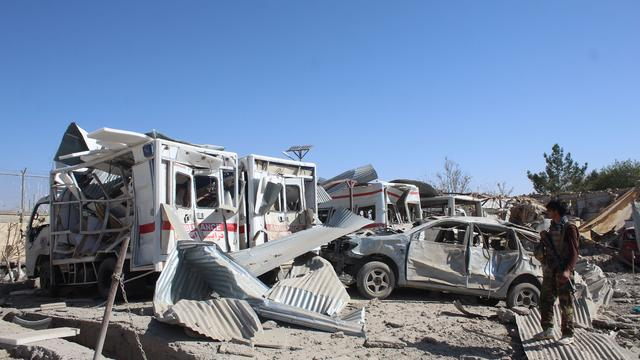 AFGHANISTAN-SECURITY-ATTACK
