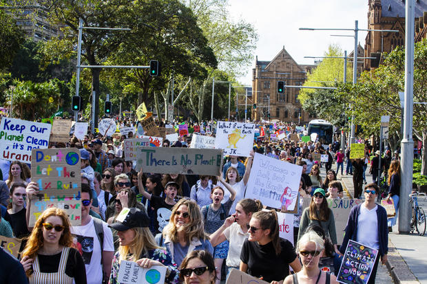 Australians Gather As Part Of Global Climate Strike
