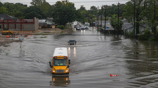Tropical Storm Imelda Brings Heavy Flooding To Houston Area