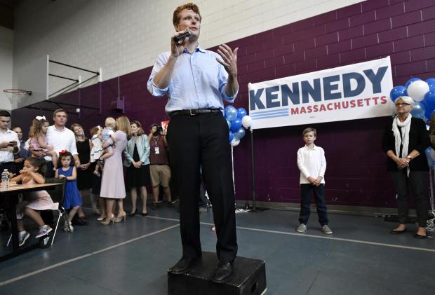 APTOPIX Election 2020 Senate Massachusetts