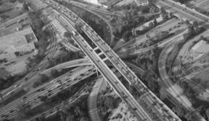 """The Los Angeles freeways """"Stack"""""""