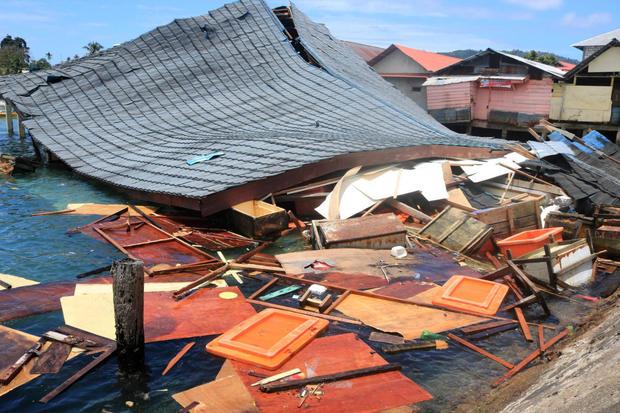 Indonesia earthquake September 26, 2019