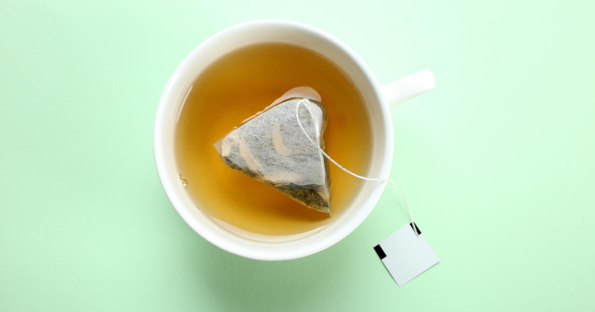Tea bags may release billions of microplastics into your cup of tea, scientists say - CBS News
