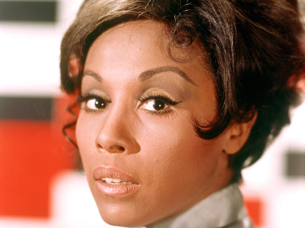Singer and actress Diahann Carroll is seen in an undated photo.