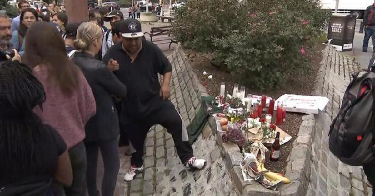 Vigil held for homeless men murdered in New York City