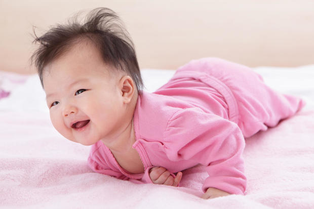 The 50 most popular baby girl names