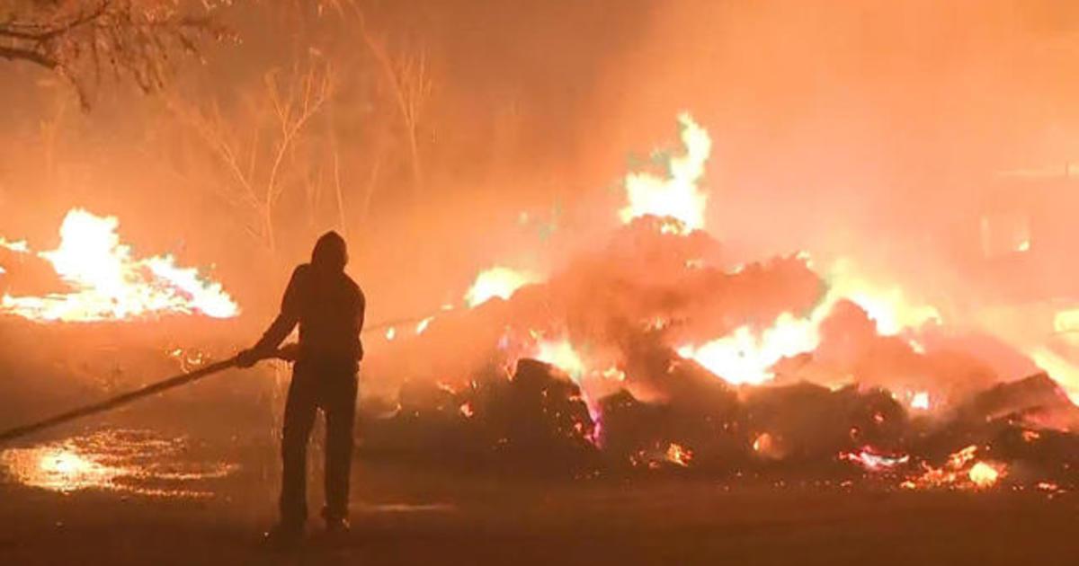 Eye Opener: Wildfires rage across Southern California