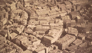 America's first aerial photograph
