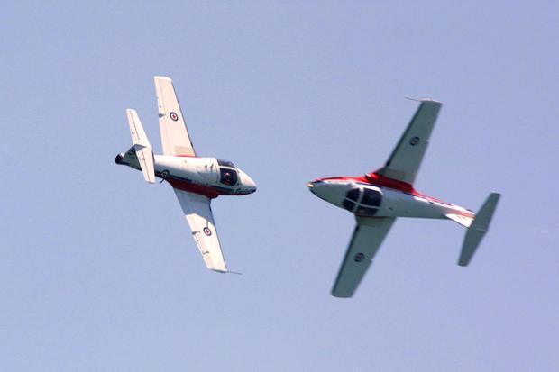 Canadian Snowbird plane crashes during Atlanta air show