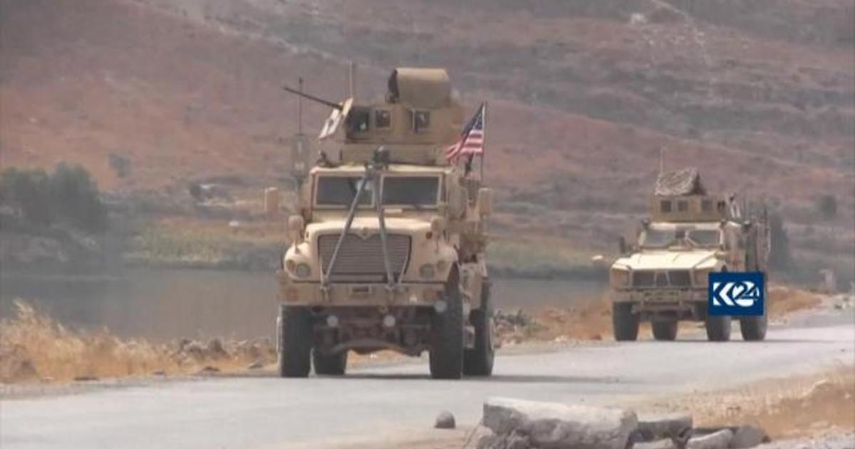 U.S. troops withdrawing from Syria as conflict escalates